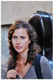 Aurélie Allexandre d'Albronn, violoncelliste